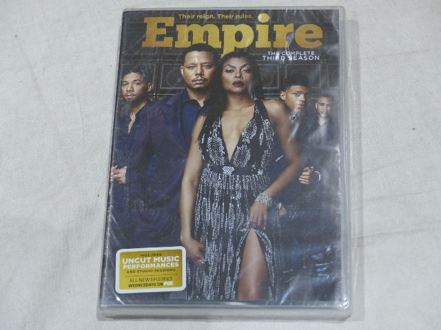 EMPIRE: THE COMPLETE THIRD SEASON DVD SET NEW