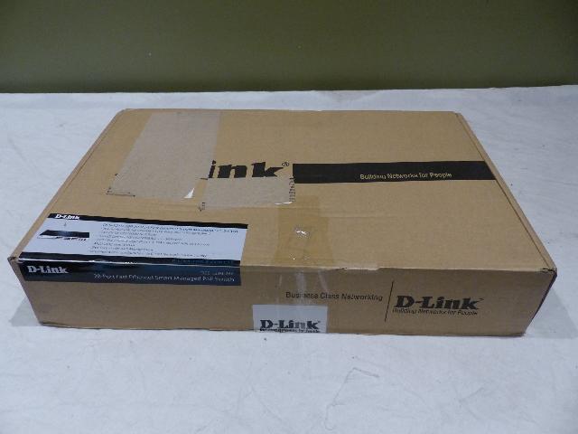 D-LINK 24-PORT SWITCH DES-1210-28P