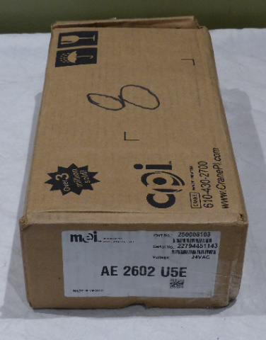 MEI VENDING MACHINE BILL VALIDATOR AE 2602 U5E 250008103