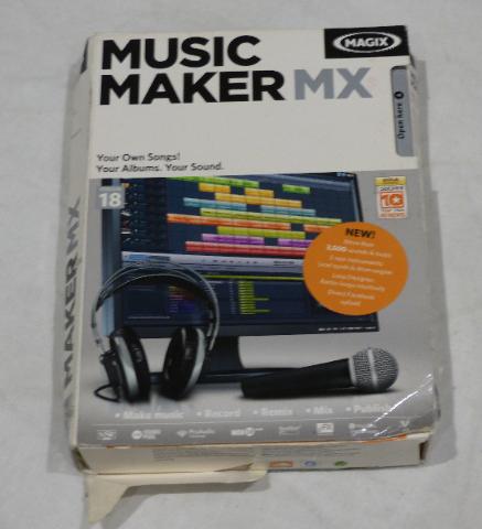 MAGIX MUSIC MAKER MX 639191816000