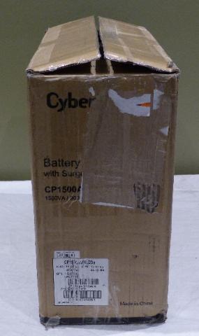 CYBERPOWER INTELLIGENT LCD UPS CP1500AVRLCD