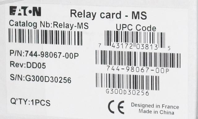 eaton relay card 744