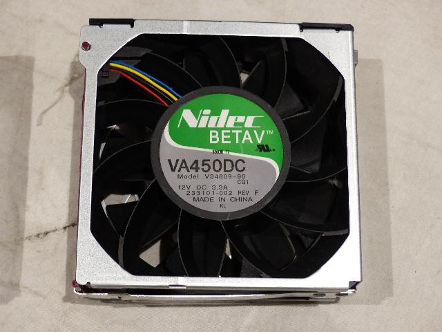 LOT OF 6* HP PROLIANT NIDEC BETAV VA450DC 12V SERVER COOLING FAN V34809-90