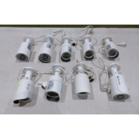 LOT OF 9* CLEARVIEW IP-72 IP BULLET SURVEILLANCE VIDEO CAMERAS DC12V 0.42A AS-IS
