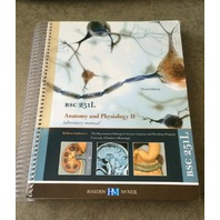 ANATOMY AND PHYSIOLOGY II LAB MANUAL 3RD EDITION HAYDEN MCNEIL BSC 251L