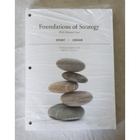 FOUNDATIONS OF STRATEGY UNBOUND EDITION FOR WESTERN DISTRICT LOOSE LEAF
