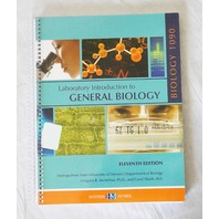 HYDEN MCNEIL LABORATORY INTRO TO GENERAL BIOLOGY 11TH EDITION UNIV OF DENVER