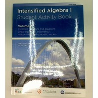 INTENSIFIED ALGEBRA 1 STUDENT ACTIVITY BOOK VOLUME 2 2013-14 EDITION