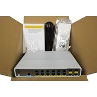 CISCO CATALYST 3560C 12 FE POE 2X DUAL UPLINK IP BASE SWITCH WS-C3560C-12PC-S