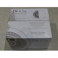 DEFINITIVE TECHNOLOGY DI4.5R DISAPPEARING 4.5IN ROUND IN-CEILING SPEAKER