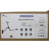 DOUBLESIGHT ERGONOMIC SIT/STAND LIFT ARM DS-ERGO-100WM