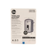 RHEEM RTEX-13 240V 1-CHAMBER 13KW ELECTRIC TANKLESS WATER HEATER