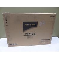 "SHARP PN-Y325 32"" LCD FLAT PANEL DISPLAY MONITOR PN-Y325"
