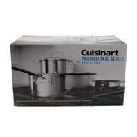 CUISINART 89-13 13-PIECE PROFESSIONAL STAINLESS COOKWARE SET 89-13