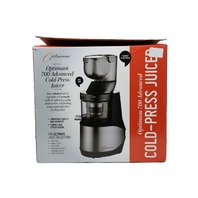 OPTIMUM 700 700BLK ADVANCED COLD PRESS JUICER