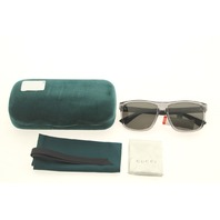 GUCCI GG0010S 004 GREY SUNGLASSES CASE COLOR TEAL GREEN