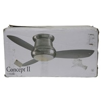 MINKA AIRE CONCEPT II F518-BN 44IN 3 BLADE FLUSH MOUNT CEILING FAN