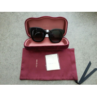GUCCI GG0208S-001 SUNGLASSES BLACK 49/28