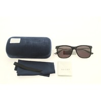 GUCCI OPULENT LUXURY GG0078SK 002 BLACK SUNGLASSES CASE COLOR BLUE