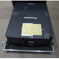 PANASONIC PT-EX16KU XGA 16000 LUMENS PROJECTOR 1080P HDTV 4:3 W/ HARD CASE