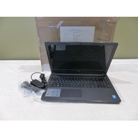 """DELL INSPIRON 15-3558 2.10GHZ 4GB 1TB 15"""" WIN 10 HOME LAPTOP 15-3558 BLACK PNF2X"""