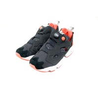 REEBOK INSTAPUMP FURY END BD3347 BLACK SALMON SIZE 7.5UK