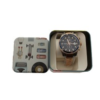 FOSSIL CH2954 WAKEFIELD TWO-TONEROSE AND SILVER WATCH