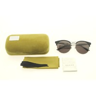 GUCCI GG0075S 001 BLACK SUNGLASSES CASE COLOR LIME