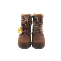 "CARHARTT CWF5355 WOMENS 6"" BROWN RUGGED FLEX WORK BOOTS SZ 8.5"