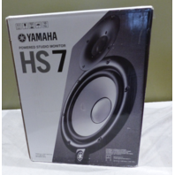 YAMAHA HS7 CHS7UK ACTIVE STUDIO MONITOR POWERED SPEAKER SYSTEM CHS7UK