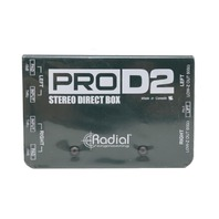 RADIAL ENGINEERING PROD2 R800 1102 00 STEREO PASSIVE DIRECT BOX