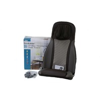 BROOKSTONE S6 SHIATSU MASSAGING SEAT TOPPER 318101