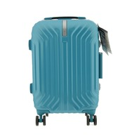 SAMSONITE TRU-FRAME 55/20 SCS AQUA BLUE SPINNER LUGGAGE