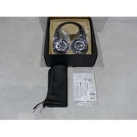 AUDIO-TECHNICA ATH-M50X BLACK MONITOR ON-EAR HEADPHONES