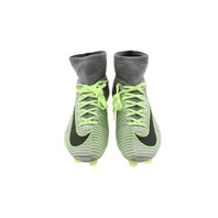NIKE MERCURIAL SUPERFLY V FG GREEN SOCCER CLEATS SIZE 7.5 831940-003