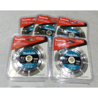 5* MAKITA 4-1/2 IN A94683 SEGMENTED RIM DIAMOND BLADE