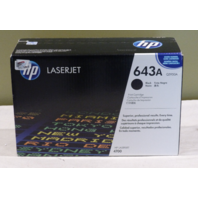 HP GENUINE LASERJET 643A Q5950A BLACK TONER CARTRIDGE