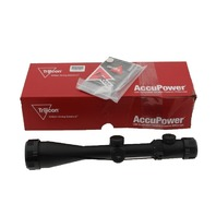 TRIJICON ACCUPOWER 4-16X50 30MM CROSSHAIR W/ RED LED RIFLE SCOPE 1900020