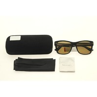 GUCCI OPULENT LUXURY GG0052S 001 BLACK SUNGLASSES CASE COLOR BLACK