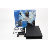 SONY PS4 PLAYSTATION STAR WARS 500GB BATTLEFRONT GAMING BUNDLE 3001356 CUH-1215A