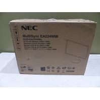 "NEC MULTISYNC EA234WMIBK 23"" LCD MONITOR EA234WMI-BK"