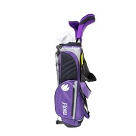 INTECH FLORA JUNIOR GIRLS GOLF CLUB SET PURPLE RIGHT-HANDED AGE 4 TO 7 I40602