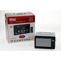 BOSS AUDIO SYSTEM BLUETOOTH DVD MP3 CD AM/FM RECEIVER 6.2 TOUCHSCREEN BV9362BI