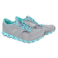 ON CLOUD X GREY/ATLANTIS WOMENS RUNNING SHOE SIZE 7.5 204301
