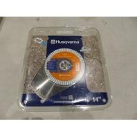 "HUSQVARNA 14"" VH-5 SEGMENTED HIGH SPEED DIAMOND SAW BLADE 542774463"