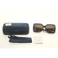 GUCCI GG0083S 003 BLUE SUNGLASSES CASE COLOR BLUE