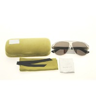 GUCCI GG0009S 005 BROWN SUNGLASSES CASE COLOR GREEN