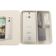 HTC ONE M8 GLACIAL SILVER 32GB VERIZON CDMA/GSM HTC6525LVWSIL