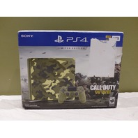 SONY PLAYSTATION 4 3002200 1TB GREEN CAMOUFLAGE CALL OF DUTY WWII BUNDLE