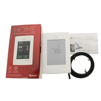 NUHEAT HOME AC0056 TOUCHSCREEN PROGRAMMABLE THERMOSTAT